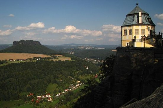 Bastei Bridge and Fortress Königstein day Tour from Prague