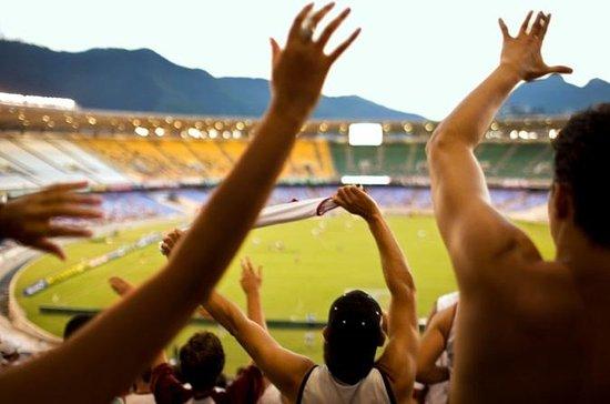 Partido de fútbol en Río de Janeiro