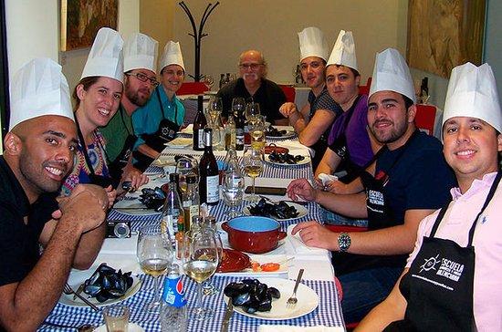 Cours de cuisine Paella en petit...
