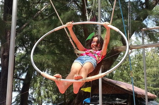 Circus Ninja Warrior Training Phuket