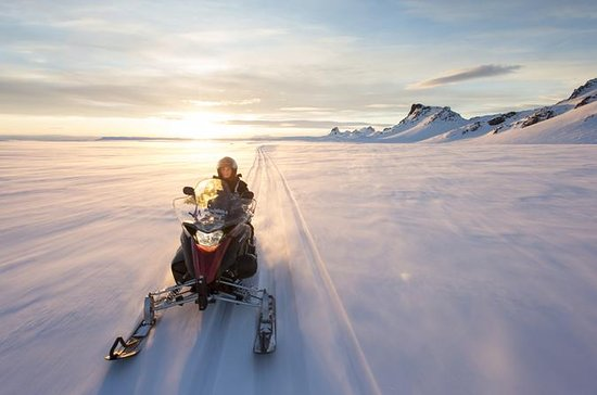 Small-Group Snowmobiling on...