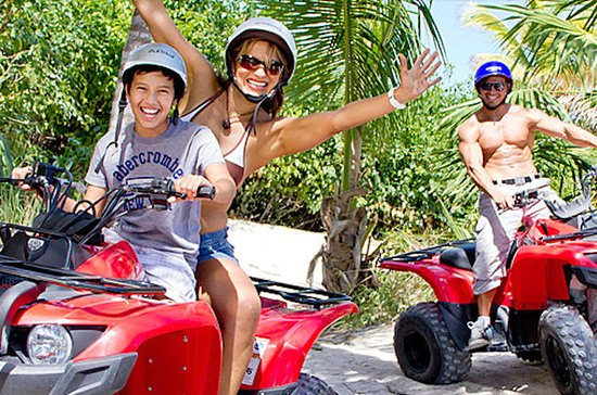 Riviera Maya ATV and Waverunner or...