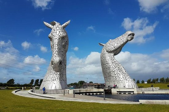 Kelpies and Falkirk Wheel - Half Day Tour from Glasgow