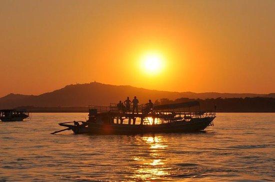 Crucero al atardecer en Bagan