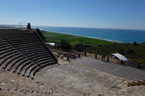 Théâtre antique de Kourion, château...