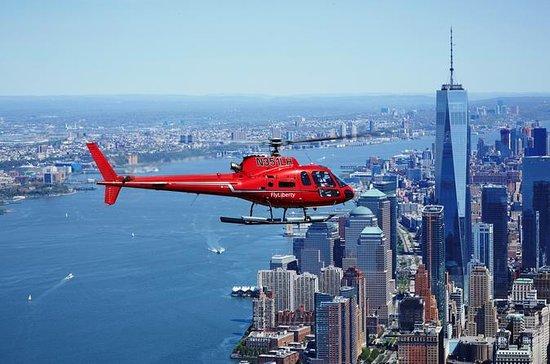 Vol privé en hélicoptère au-dessus de...