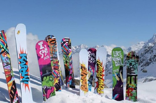 Location de snowboard de North Lake...