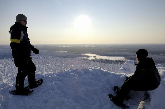 Northern Lights Schneeschuhwanderung...