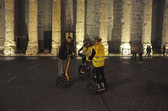 Highlights of Rome by Night Segway...