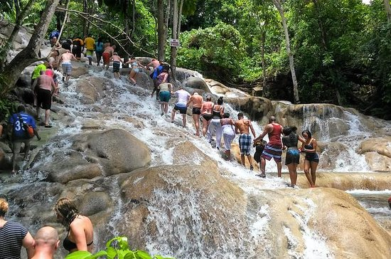 Blue Hole, Secret Falls and Dunn's River Falls Combo Tour