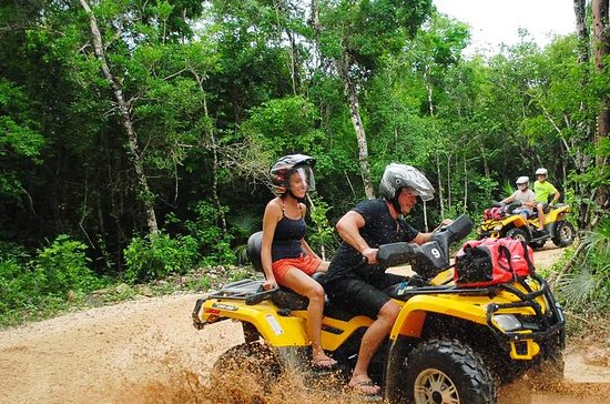 ATV Xtreme and Zipline Tour from...