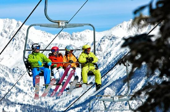 Pacchetto di noleggio sci