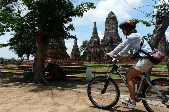 Ballade à vélo à Ayutthaya d'une...