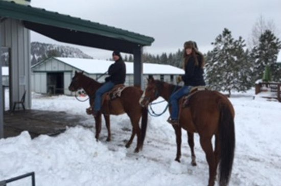 Winter Horseback Riding Adventure...