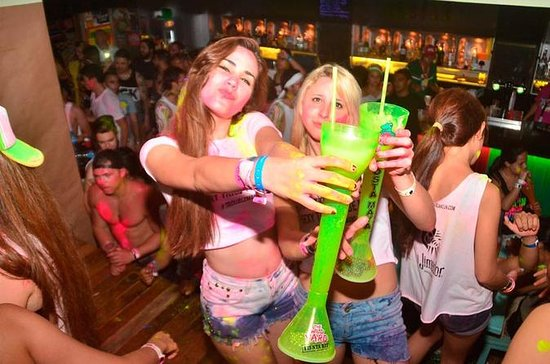 Señor Frogs Cancun: Open Bar Glow ...
