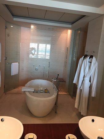 Park Hyatt Dubai: Tolles Badezimmer Mit Freistehender Badewanne