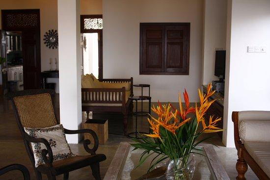 Habaraduwa, Sri Lanka: Living Area