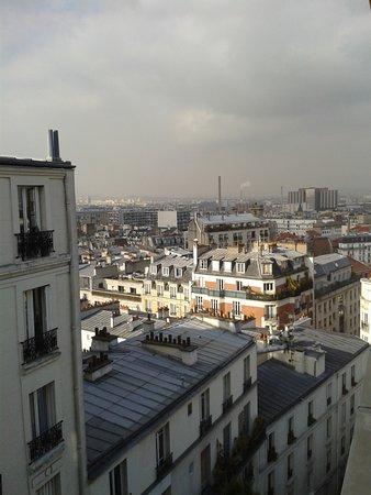 Caulaincourt Square Hostel: Avec une jolie vue !