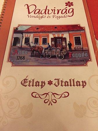 Tatabanya, Hungría: Vadvirág Restaurant