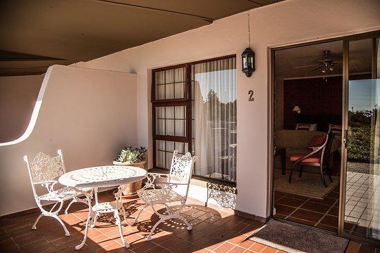 Gordon's Bay, Sør-Afrika: Terrace