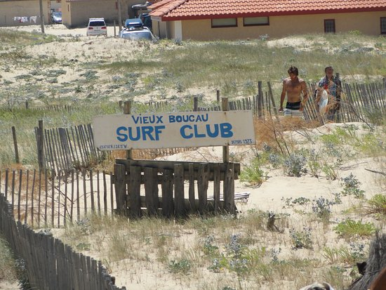 Vieux-Boucau-les-Bains, France: surf