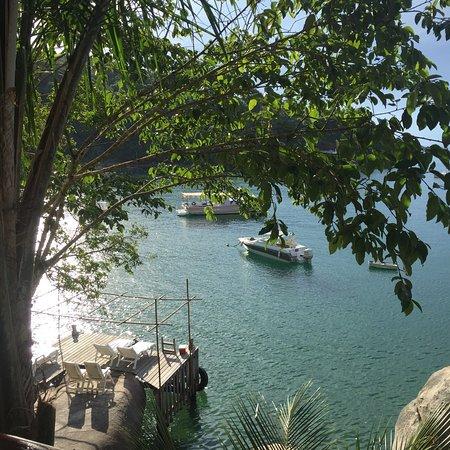 Vila Pedra Mar: Vistas da varanda da Pousada