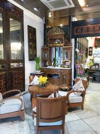 Courtyard @ Heeren Boutique Hotel: Lobby