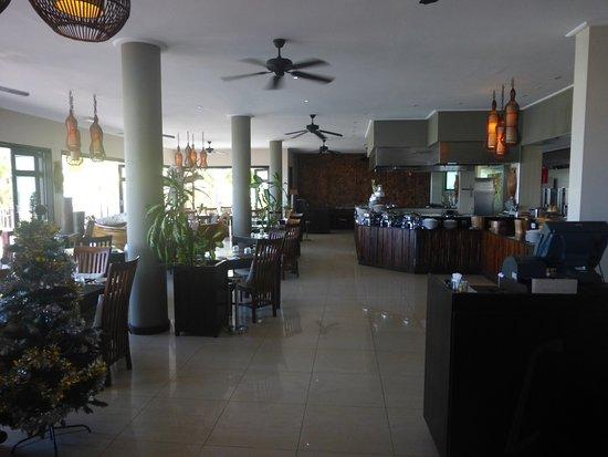 Anse Forbans, سيشيل: salle du restaurant