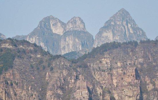 Huixian, China: Wanxian Mountain.
