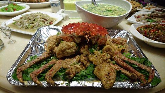 Bengbu, China: 深海海蟹