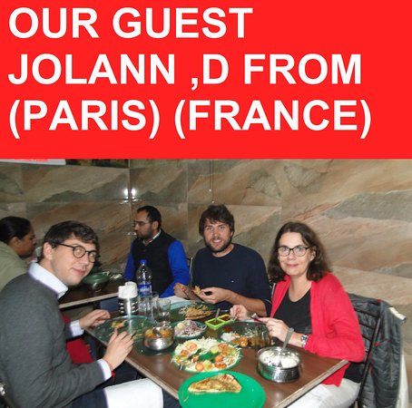 OUR GUEST FROM (PARIS)