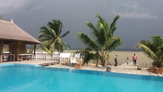 Porto-Novo, Benín: Auberge chez Théo