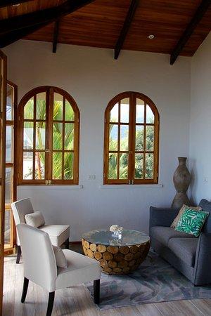 El Castillo Hotel: Owner's Two Bedroom Suite Sitting Area