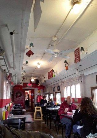 Bellville, OH: Buckeye Express Diner dining car
