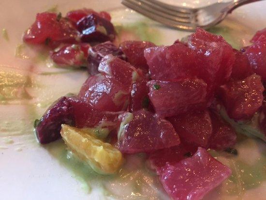 Galatoire's Restaurant: tuna crudo