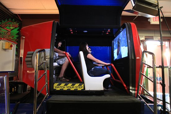 Shasta Lake, CA: 3D Ride Simulator