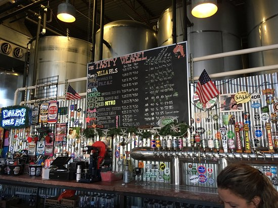 Oskar Blues Tasty Weasel Tap Room