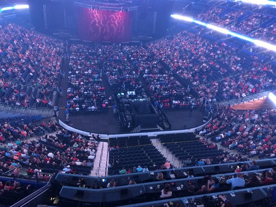 Waiting For The Concert To Begin Picture Of Amalie Arena