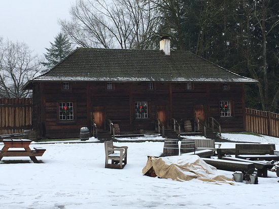 Fort Langley National Historic Site: Winter at the Fort!