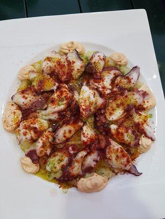 Burguillos, Spain: Octopus