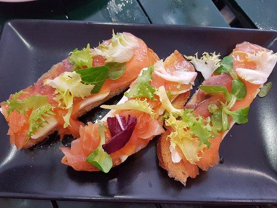 Burguillos, Spain: Smoked Salmon