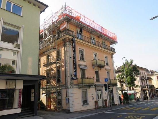 Outside view Hotel Gottardo Garni, Locarno