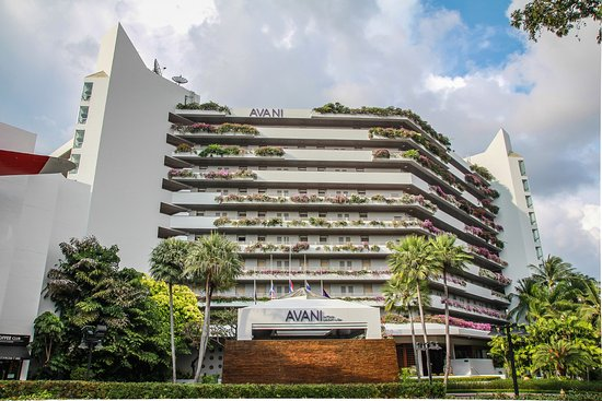 AVANI Pattaya Resort & Spa : Hotel Building