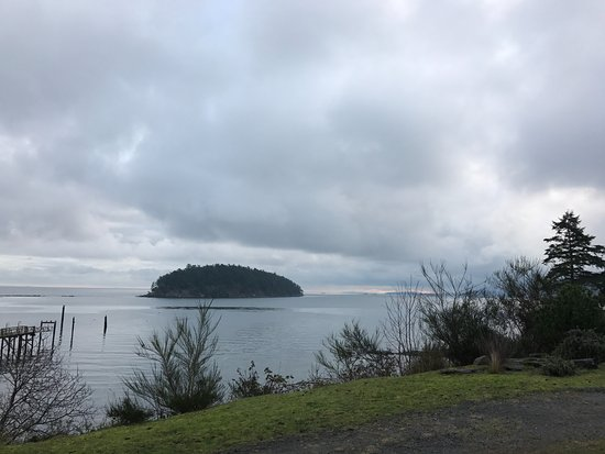 Mayne Island, Canada: View from Cottage 112