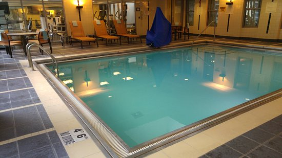 Courtyard Chicago Downtown/Magnificent Mile: Swimming Pool