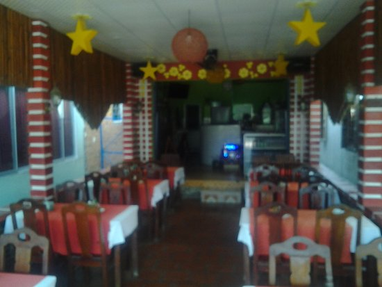 Lap Thao Restaurant: Restaurantbereich