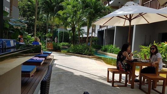 Deevana Plaza Krabi Aonang: Deevana Plaza during Christmas time