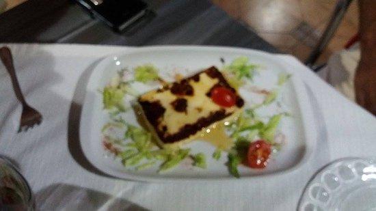 La Tasca De Ramon: Queso asado con miel