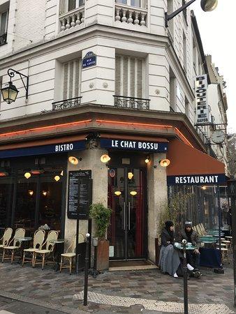 Restaurant Le Chat Bossu Paris