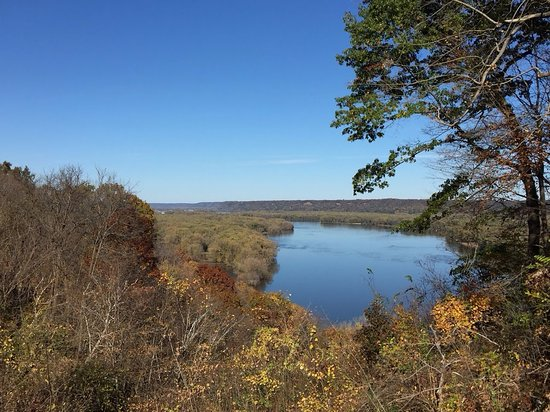 Mississippi River Scenic Overlook in Guttenberg, IA